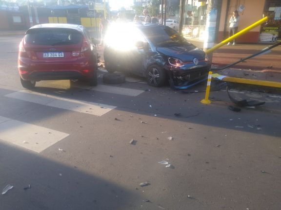 Conducía alcoholizada y provocó una colisión en Posadas