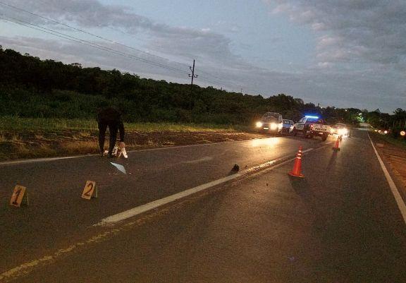 Peatón murió al ser embestido por un vehículo que se dio a la fuga