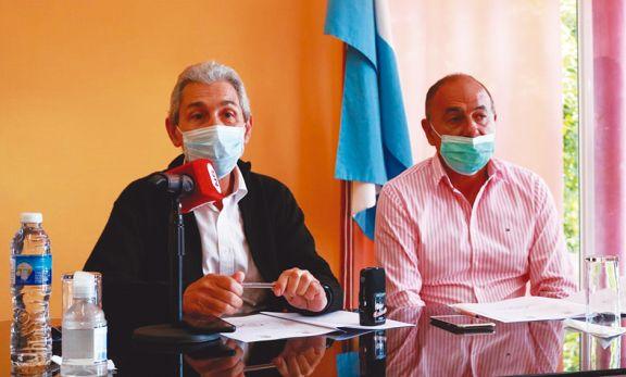 Oberá y Guaraní firmaron acta por el parque industrial