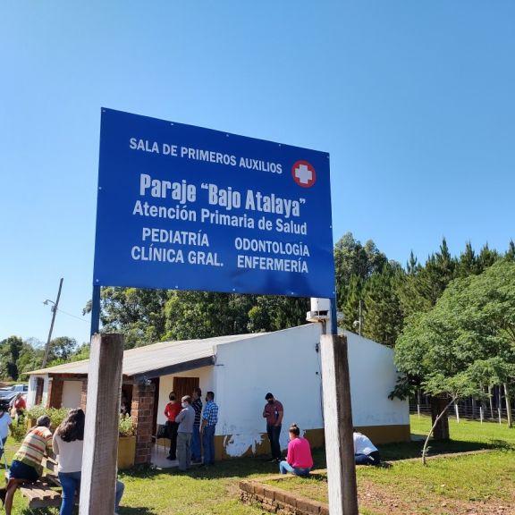 Reinauguran la Sala de Atención Primaria de la Salud del paraje Atalaya