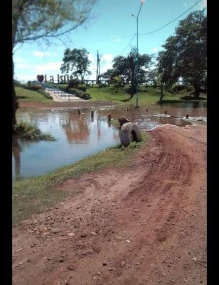 Creció abruptamente el río Uruguay en Santo Tomé