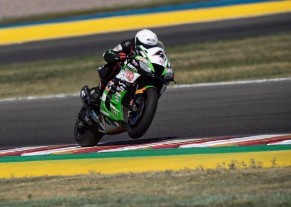Ribodino representó al Rosamonte en el Mundial de Superbike