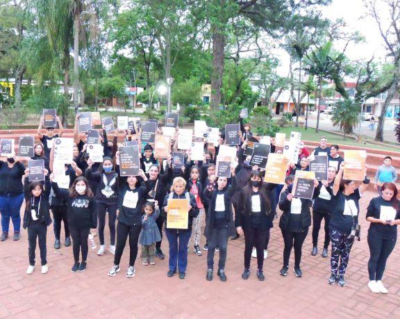 Ituzaingó caminó contra la Trata de Personas a nivel mundial