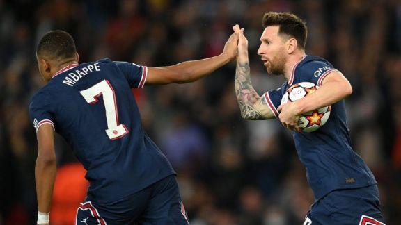 Messi, con sus goles, y Mbappé hicieron posible la remontada de PSG ante Leipzig