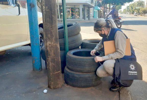Retiraron más de 1.500 neumáticos  en desuso