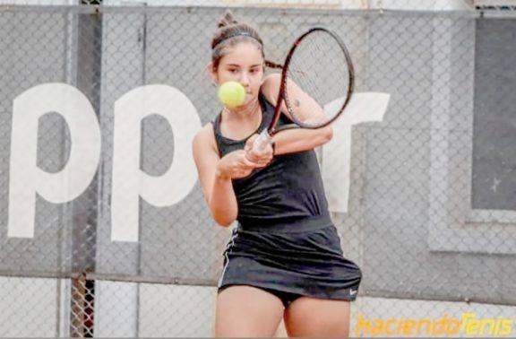 Tenis: Priscila Landi llegó a Estados Unidos para competir y buscar una beca