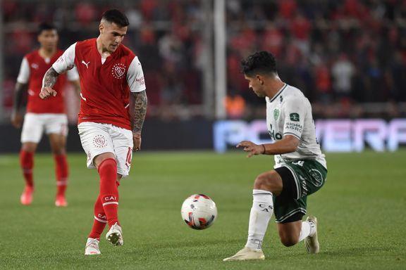 El Rojo no pudo con Sarmiento y sigue sin ganar