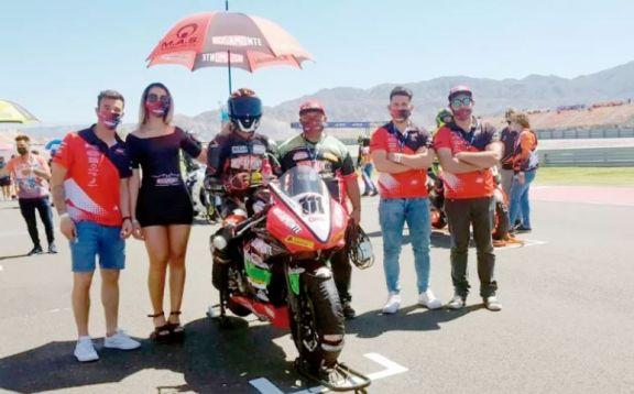 El Rosamonte Racing Team busca seguir sumando en el Superbike