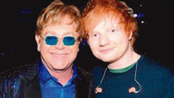 Elton John hará un tema con Ed Sheeran