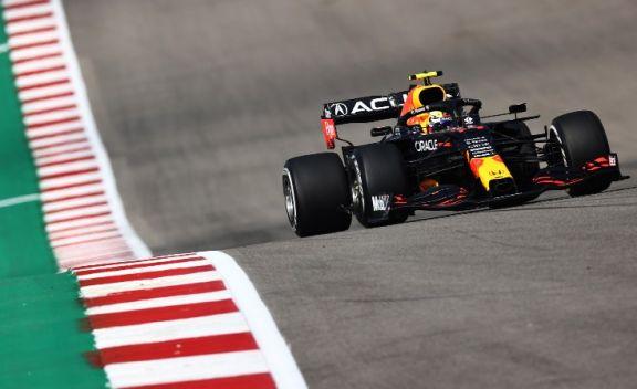 Pérez hizo el mejor tiempo en los ensayos de la F1 en Estados Unidos