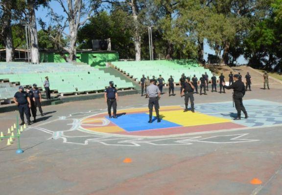 Ituzaingó fue sede de una capacitación para profesionalizar a la Policía de Corrientes