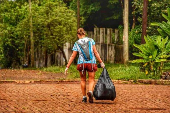 Este domingo se realizará la primera carrera bajo modalidad plogging en Iguazú