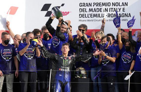 Fabio Quartararo se consagró campeón del MotoGP