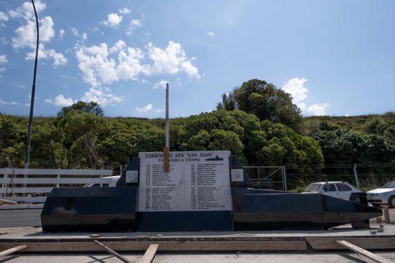 Inauguraron un memorial para los tripulantes del ARA San Juan, a cuatro años de su última zarpada