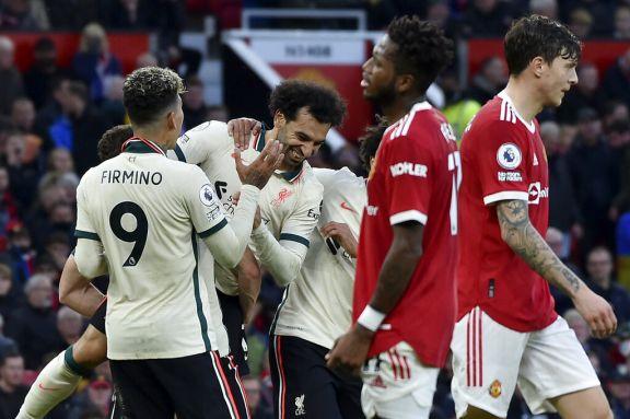 Liverpool destrozó al United con una goleada histórica