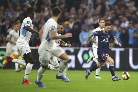 El clásico Marsella-PSG, con Messi, tuvo más lucha que fútbol para un empate lógico