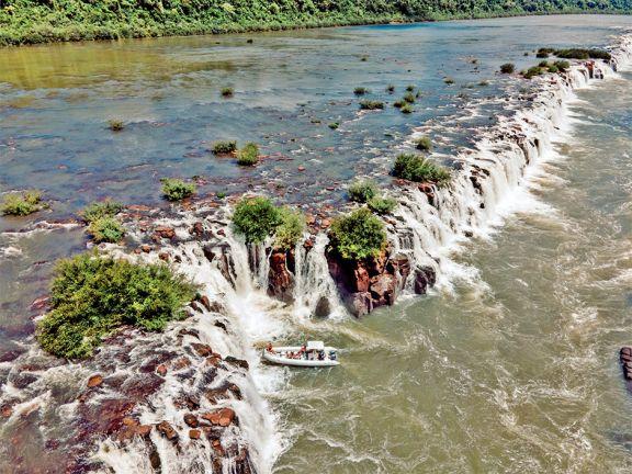 Volvieron a cerrar el acceso a los Saltos del Moconá