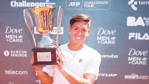 Báez se quedó con el torneo de Buenos Aires y sumó su quinto Challenger del año