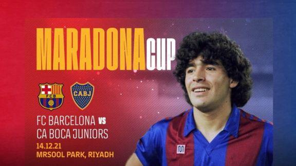 Confirman el amistoso entre Boca y Barcelona en homenaje a Maradona
