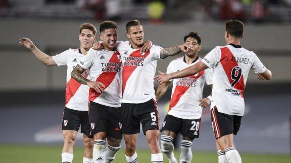 River goleó a Argentinos y dio otro paso hacia el título de la Liga Profesional