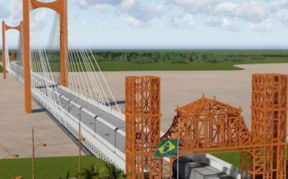 Anuncian en Brasil la licitación del puente con Porto Xavier
