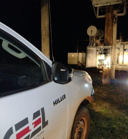 Robo de cables de energía eléctrica y de más de 12 medidores de agua potable en Eldorado