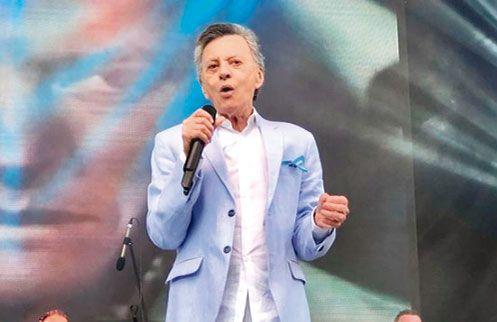 Palito Ortega larga su tour despedida en  el Luna Park