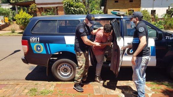 Buscado por robo en Eldorado fue detenido en Iguazú