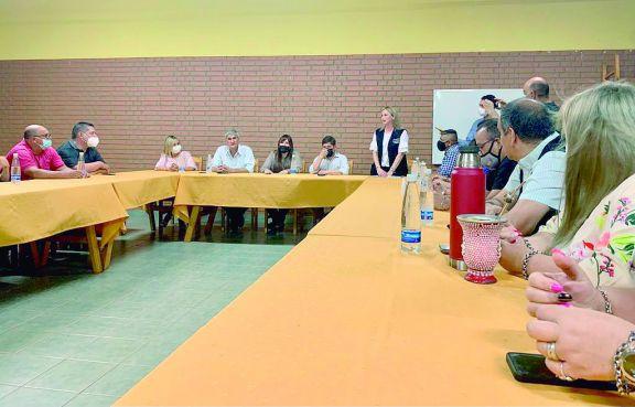 Los principales referentes de la zona Norte se reunieron en sede del Soime con funcionarios de la provincia.