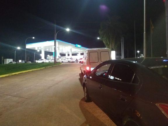 Comienza a escasear el combustible en las ciudades fronterizas