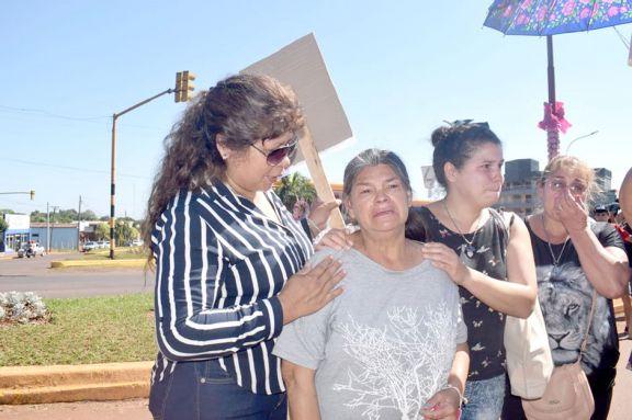 Familiares y amigos de Charly Acosta pidieron justicia por el peatón atropellado