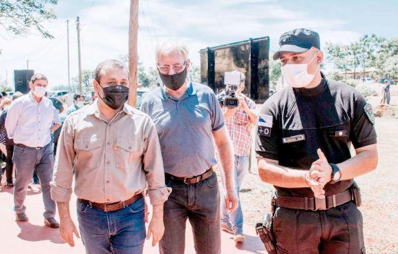 Pusieron en marcha la División Delitos Rurales en Andresito