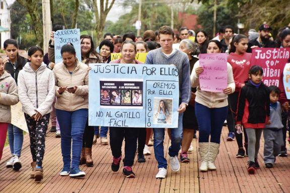Masacre de Monte: familiares de víctimas piden juicio urgente