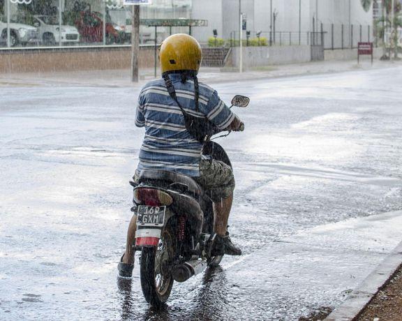 Advertencia nivel amarilla por lluvias y tormentas aisladas en la tierra colorada