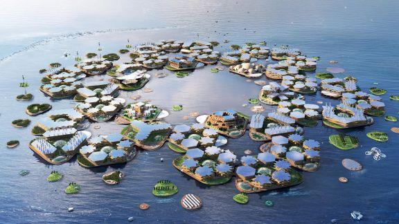 La ciudad flotante de la ONU
