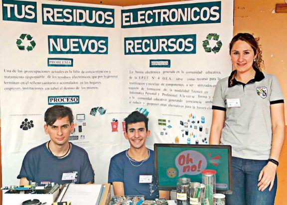 Estudiantes presentaron la idea en la Feria de Ciencias.