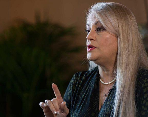 Wanda Vázquez, gobernadora.