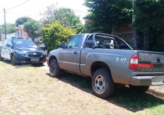 Recuperan camioneta robada del predio de la Universidad de Misiones