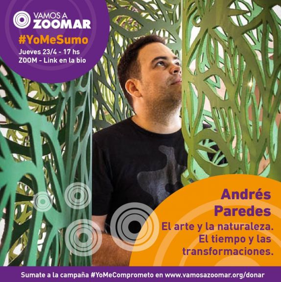 Andrés Paredes en charla por VamosAZoomar