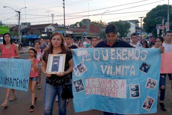 Vilma desapareció el miércoles 23 de octubre y dos días más tarde su cuerpo fue hallado sin vida a las afueras de la ciudad.