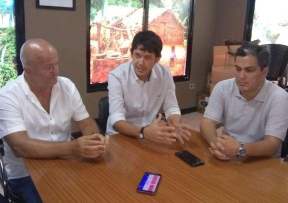 Samuel López visitó la Dirección Municipal de Conductas Adictivas de Iguazú