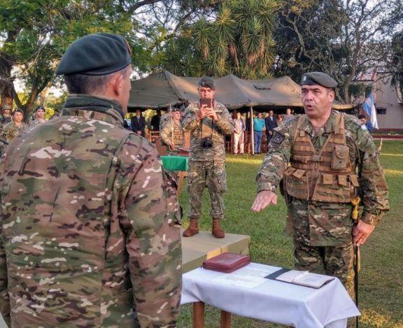 Asumió el nuevo director de la Escuela Militar de Monte