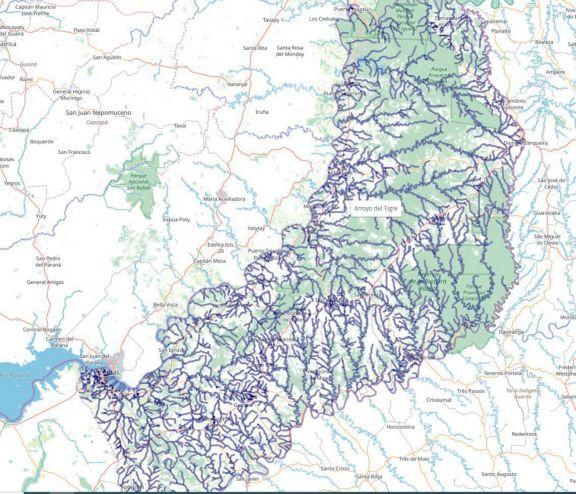 Todos los arroyos de Misiones, ahora en plataforma web