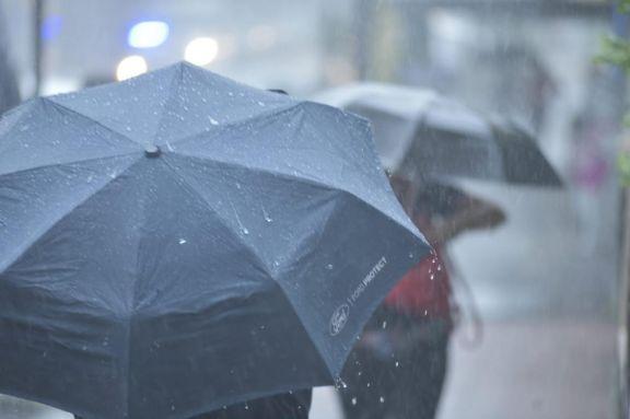 Las lluvias seguirán todo el fin de semana