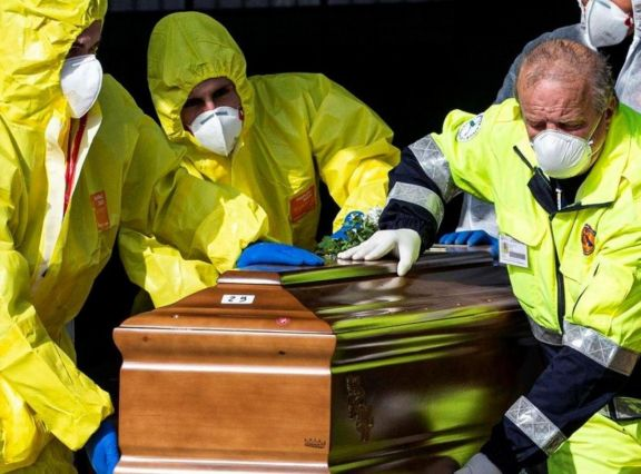 Ya son más de 10.000 los muertos en Italia por el Covid-19