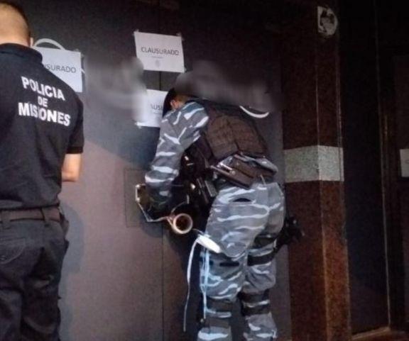 Posadas: doce detenidos y un local bailable clausurado por violar la cuarentena