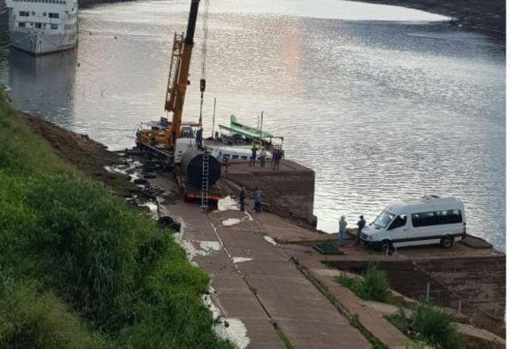 Iguazú: instalaran bombas impulsoras en el río para solucionar el problema de agua