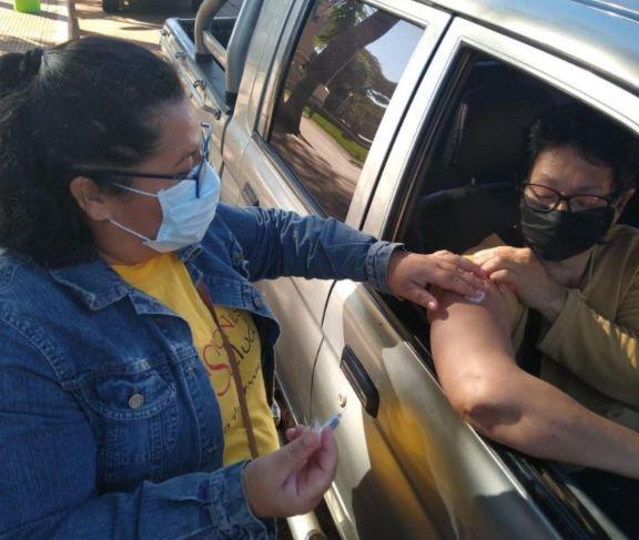 Puerto Iguazú: exitosa campaña de vacunación antigripal Auto-Vac