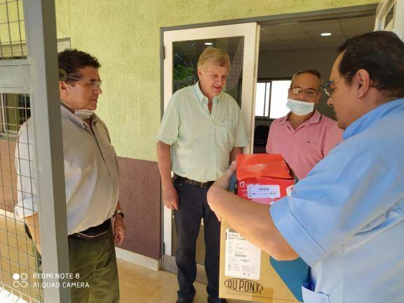 El hospital de Wanda incorpó personal médico y recibe mucho apoyo comunitario
