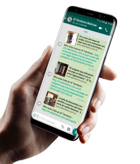 Grupos de noticias por Whatsapp